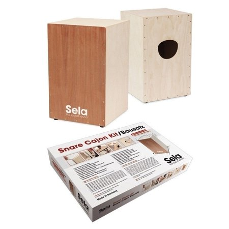 - Sela  SE 001 Snare Cajon Kit with Cajon Method Book & CD