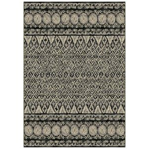 Dynamic Rugs 63317-3393 Eclipse Area Rug Grey 3-ft 11-in 5-ft 7-in