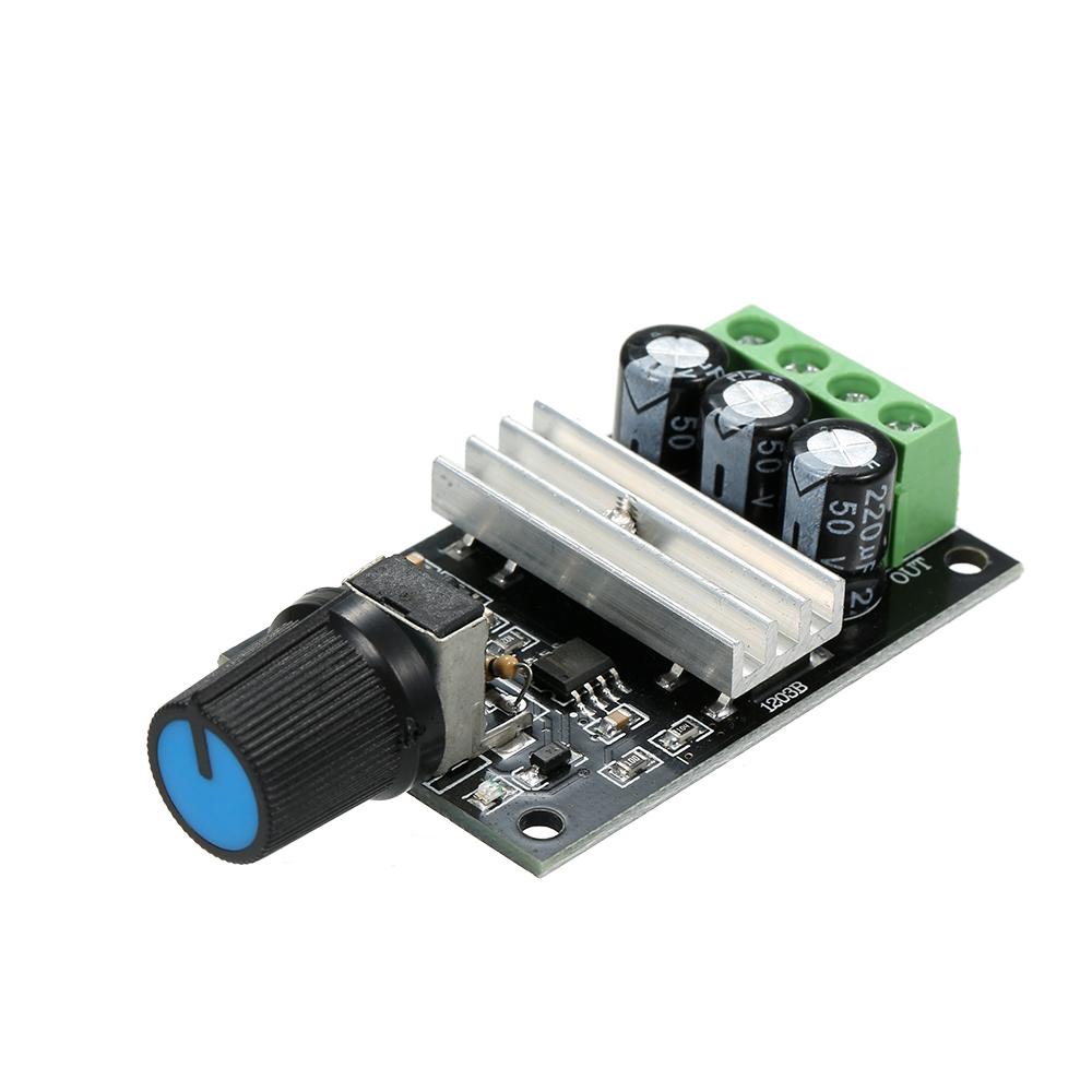 NEW PWM DC 6V 12V 24V 28V 3A Motor Speed Control Switch Controller