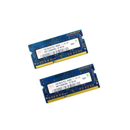 PC3-8500S HYMT112S6BFR6C HYNIX 2GB KIT 2X1GB PC3-8500S 204-PIN DDR3 1066MHZ SODIMM LAPTOP NOTEBOOK MEMORY Laptop Memory - Used Very (1066 Mhz Ddr3 Notebook Memory)