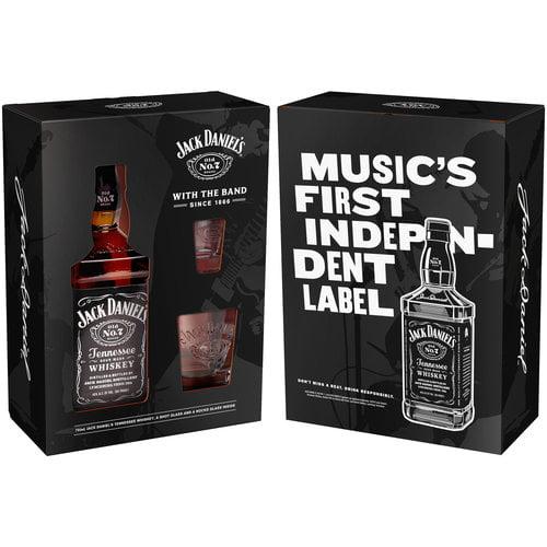 Jack Daniel's Tennessee Whiskey 750 mL Gift Set, 3 pc - Walmart.com