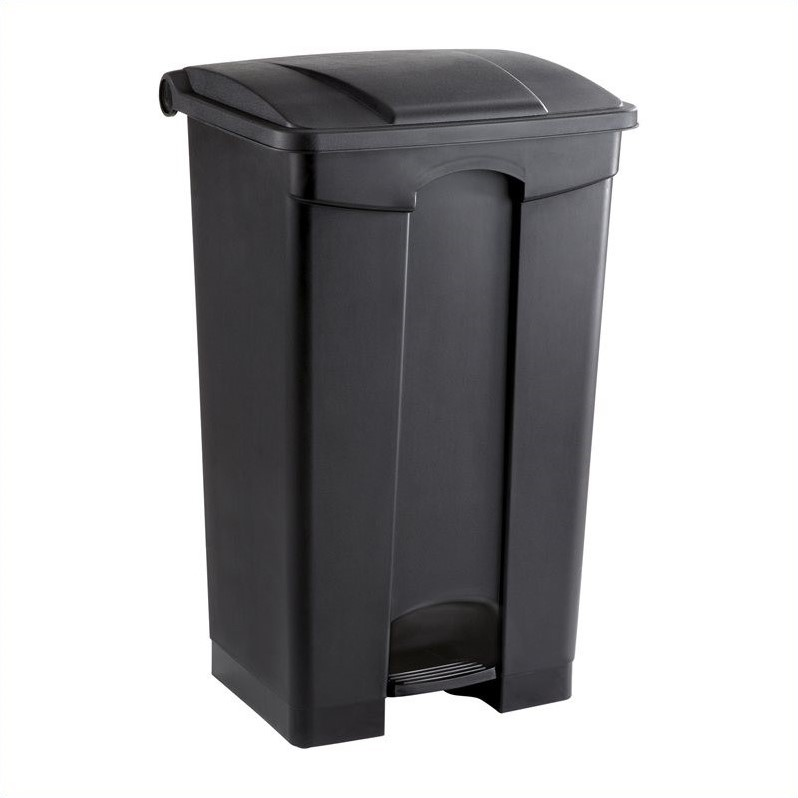 Scranton & Co Plastic Receptacle - 23 Gallon in Black - image 1 of 1