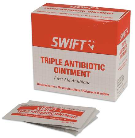 HONEYWELL NORTH Triple Antibiotic,Foil Pack,0.5g,PK20, 232124