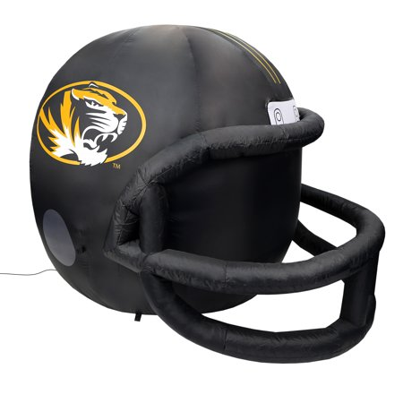 NCAA Missouri Tigers Team Inflatable Lawn Helmet, Black, One Size - Helmet Inflatable