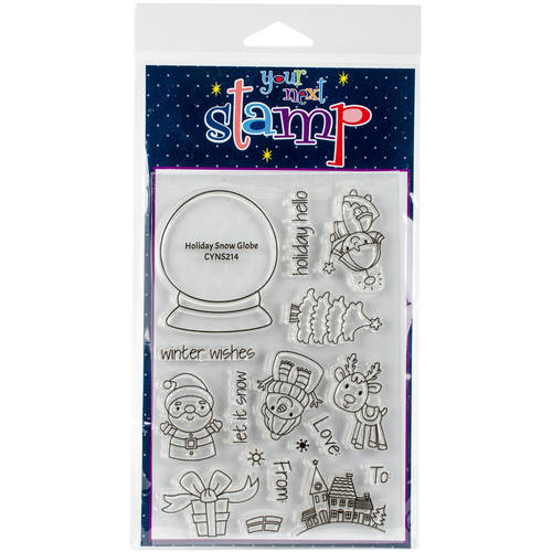 """Your Next Stamp Clear Stamps, 4"""" x 6"""""""