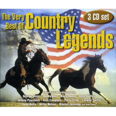 The Very Best Of Country Legends (Best Modern Country Artists)