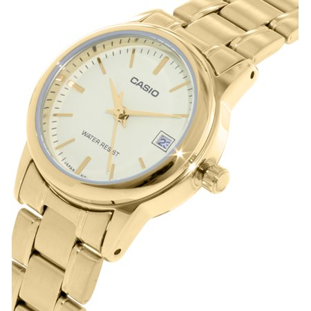 Casio Women's LTPV002G-9A Gold Stainless-Steel Plated Japanese Quartz Dress Watch - image 2 of 3