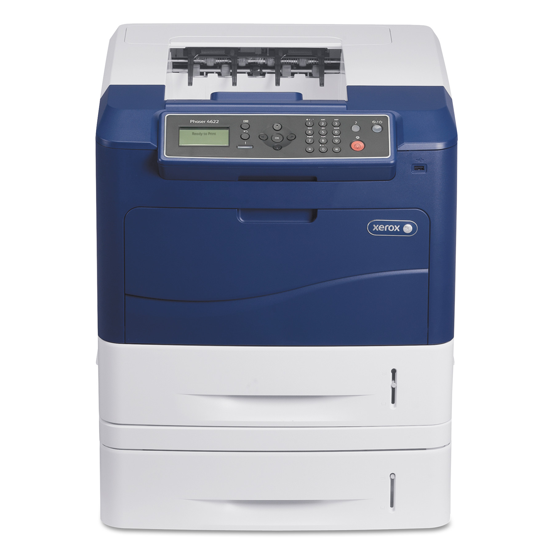Xerox Phaser 4622 Black and White Printer, with Additional Paper Tray