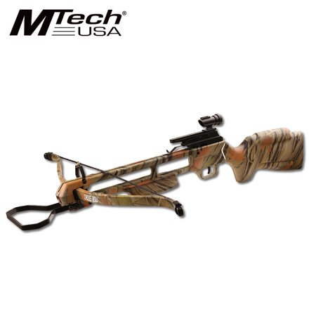 RIFLE CROSSBOW | 150 lb. Draw Weight Camo Hunter + 2 - 150 Lb Rifle Crossbow