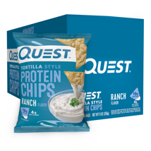 Tortilla & Corn Chips: Quest Nutrition Tortilla Style Protein Chips