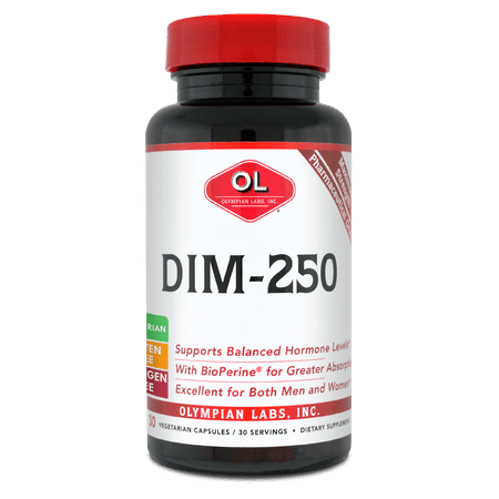 Olympian Labs DIM-250, 250mg, 30 Ct