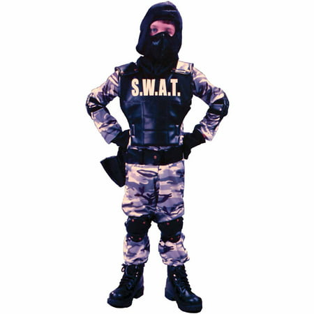 S.W.A.T Child Halloween Costume - Kids Swat Costumes
