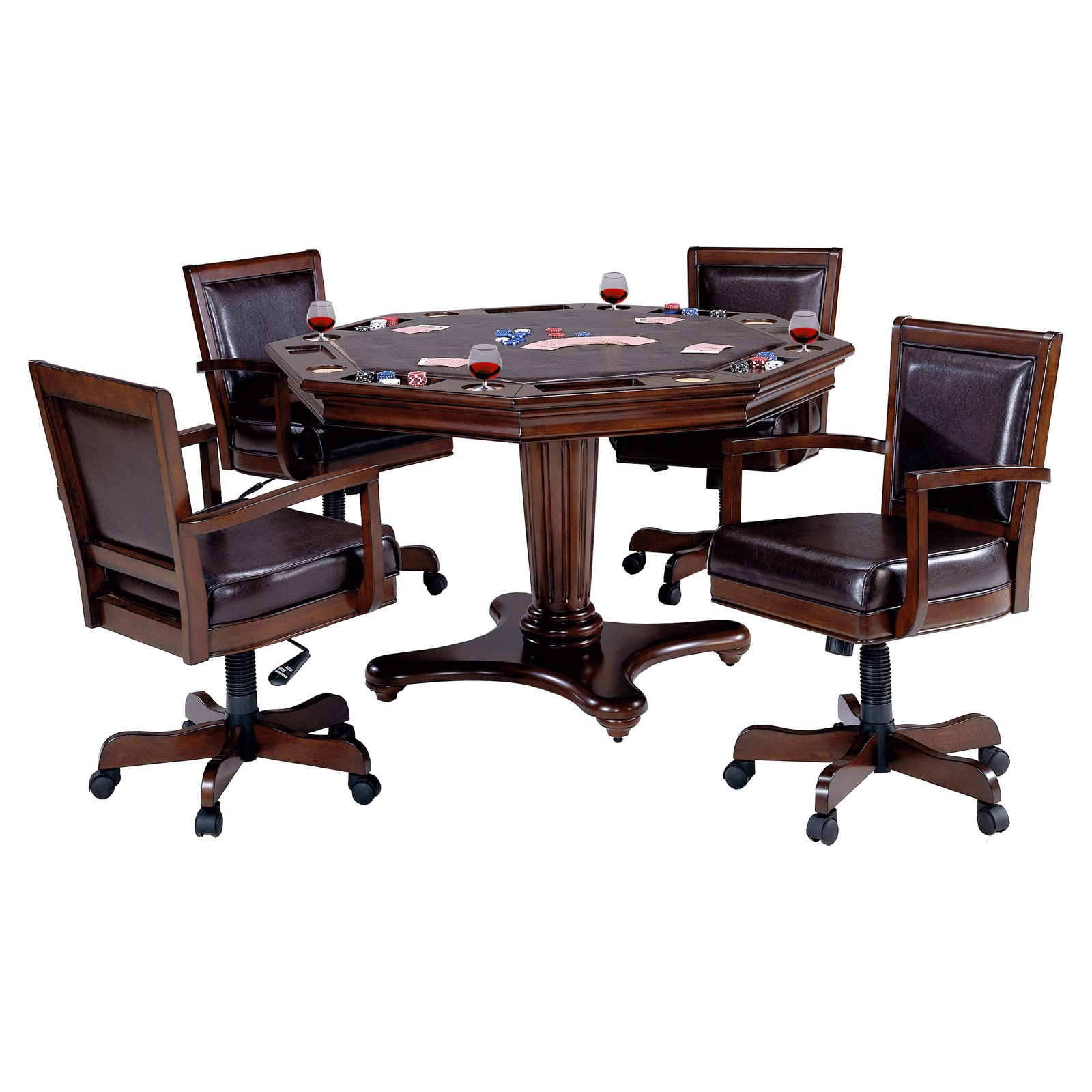 Hillsdale Ambassador 5 Piece Game Table Set by Hillsdale Furniture