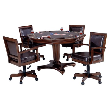 - Hillsdale Ambassador 5 Piece Game Table Set