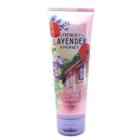Bath & Body Works French Lavender & Honey Ultra Shea Body Cream 8 Oz.