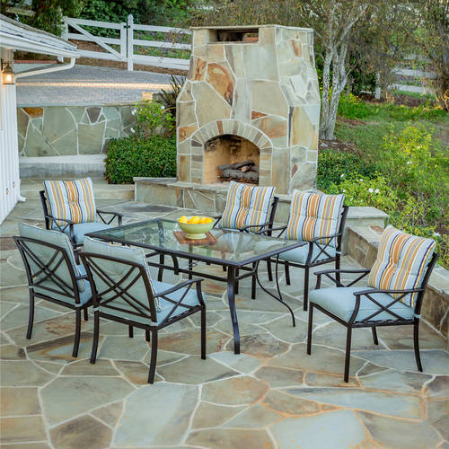 Redford 7-Piece Patio Dining Set, Seats 6