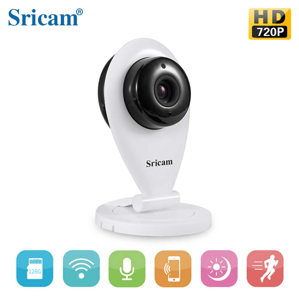 Sricam SP009 Wireless HD 720P Network Home Security IP Camera USB Supply IR Night Vision WiFi Webcam App works with ipad iphone and smart devices
