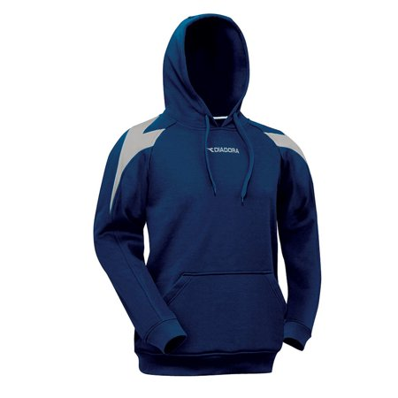 Diadora T-shirt - Diadora Boy's Chevron Hoodie L/S Sweatshirts NAVY YM