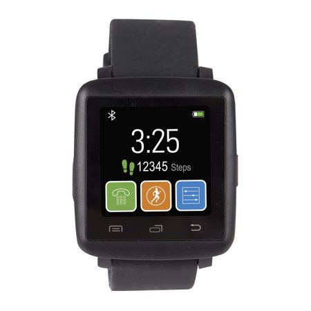 Vivitar Vfit Smart Watch Black