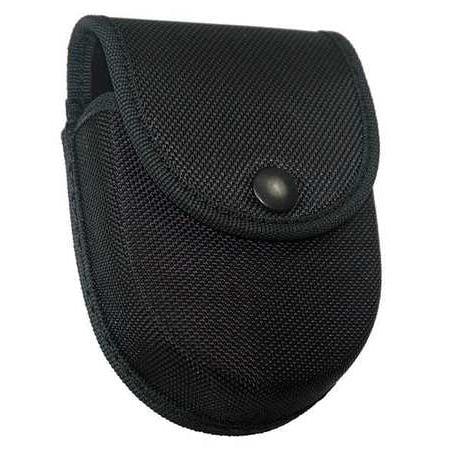 ASP 56148 Handcuff Case,Black,Leather,5 in L (Door Cuffs)