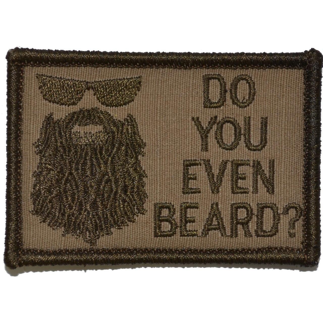 Do You Even Beard? - 2x3 Patch