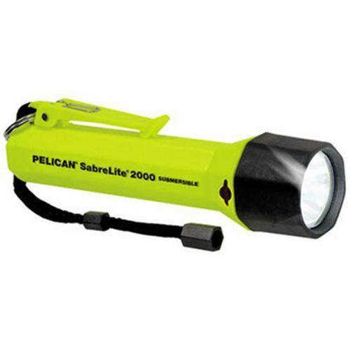 Pelican Super SabreLite 2000 3C Xenon Waterproof Flashlight, 2000C Sabrelite, As