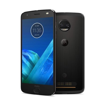 Certified Pre-Owned Motorola Moto Z2 Force XT1789 64GB AT&T GSM Global Unlocked Smartphone - Super Black