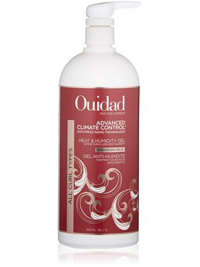 ($75 Value) OUIDAD Advanced Climate Control Heat & Humidity Gel – Stronger Hold 33.8oz/1L