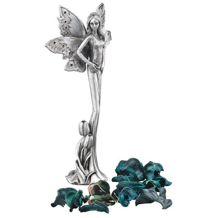 Natures Fairies: Tulip Sculptural Fine Pewter Collectible