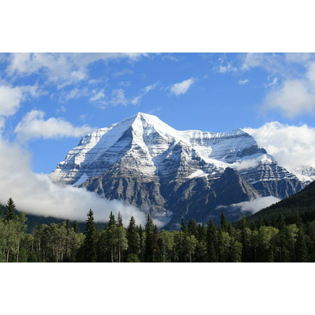 Framed Art for Your Wall Mount Robson Nature Landscape Travel Scenery 10x13 Frame