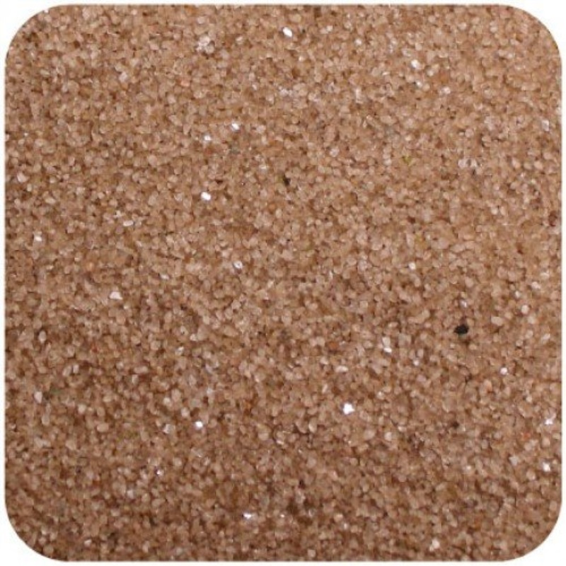 Sandtastik Floral Colored Home Decorative Sand 2 lb (909 g) Bag - Beige