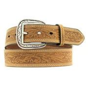 Ariat Accessories Men's Tooled Stitch Belt BROWN 32