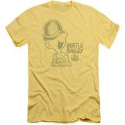 Beetle Bailey Vintage Beetle Mens Slim Fit Shirt