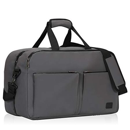 e494b814b9d1 Hynes Eagle Travel Weekender Bag Duffel Flight Approved Carry on Bag 36L,  Black