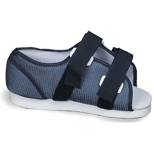 Men's Blue Mesh Post-Op Shoe, Medium