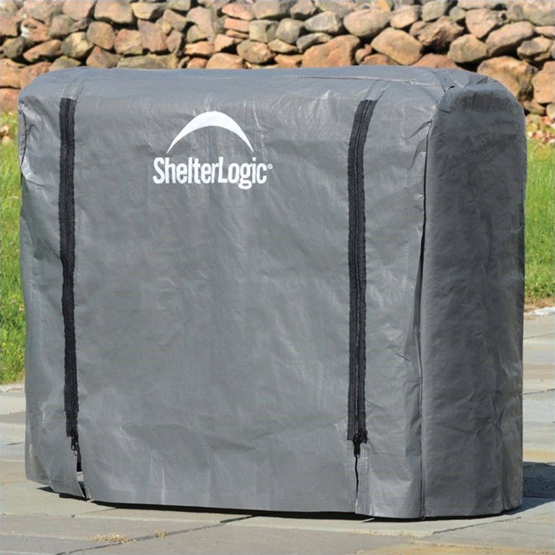 ShelterLogic Universal Firewood Rack Cover