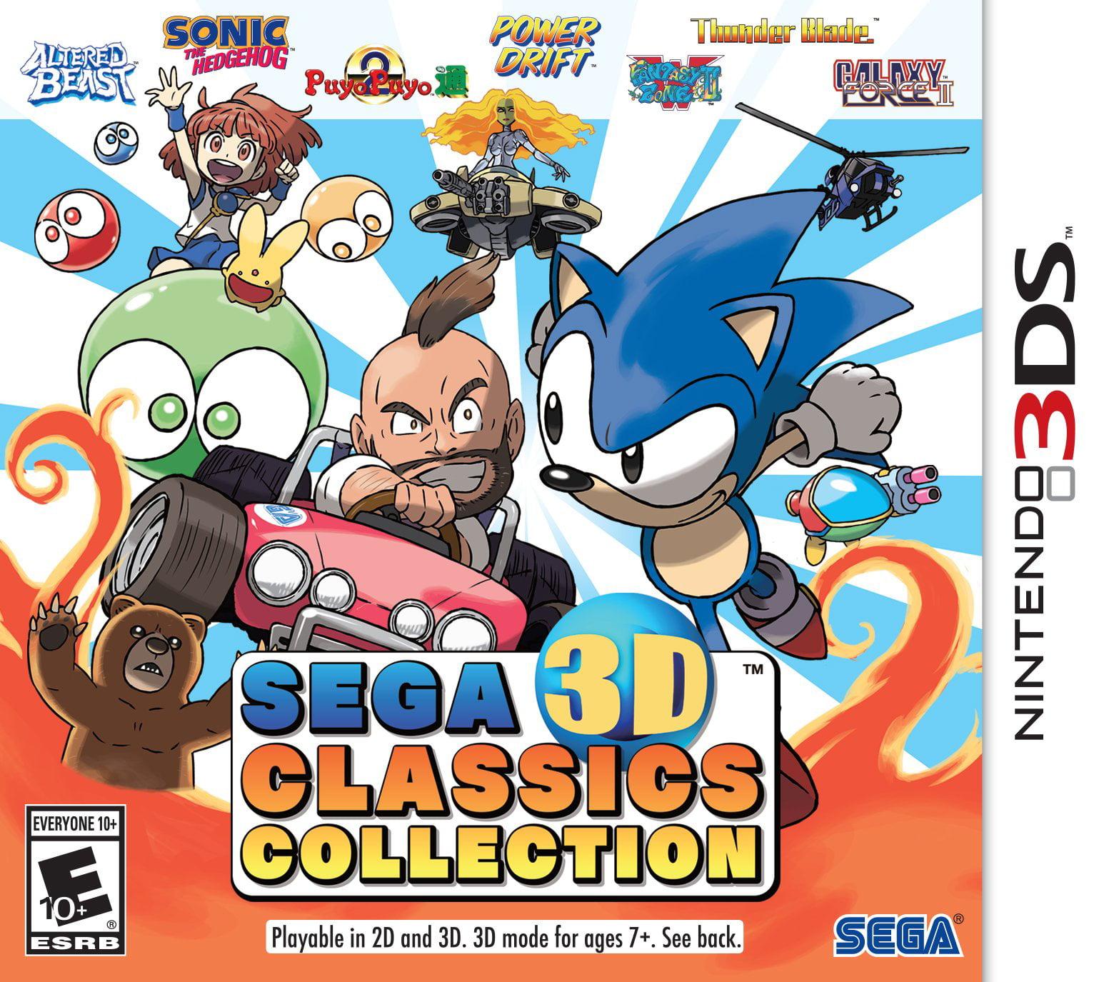 Sega 3d Classics Collection Action adventure Game Nintendo 3ds (cc-61120-5) by Sega