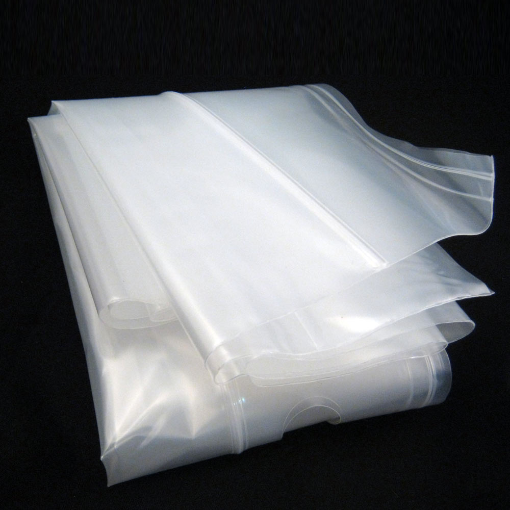 5 Poly Bags L Extra Large Plastic 24x20 Heavy Duty Clothes Protect Storage