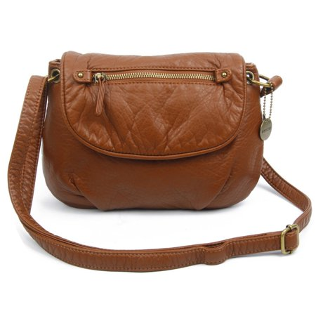 - Ampere Creations  Small Bonnie Saddle Crossbody Handbag