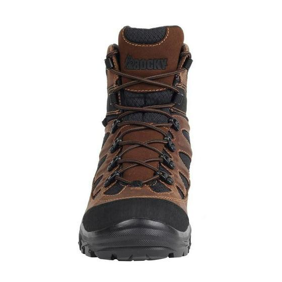 72fd47d8606 Rocky Outdoor Boots Mens Ridgetop Waterproof Brown Black FQ0005257