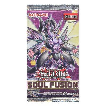 Yu-Gi-Oh Cards - Soul Fusion - Booster Pack (9 Cards) ()