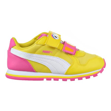 PUMA - Puma Sesame Street Runner Big Bird Infants Toddlers Shoes Dandelion- Puma White 362889-01 - Walmart.com bfbaa2434
