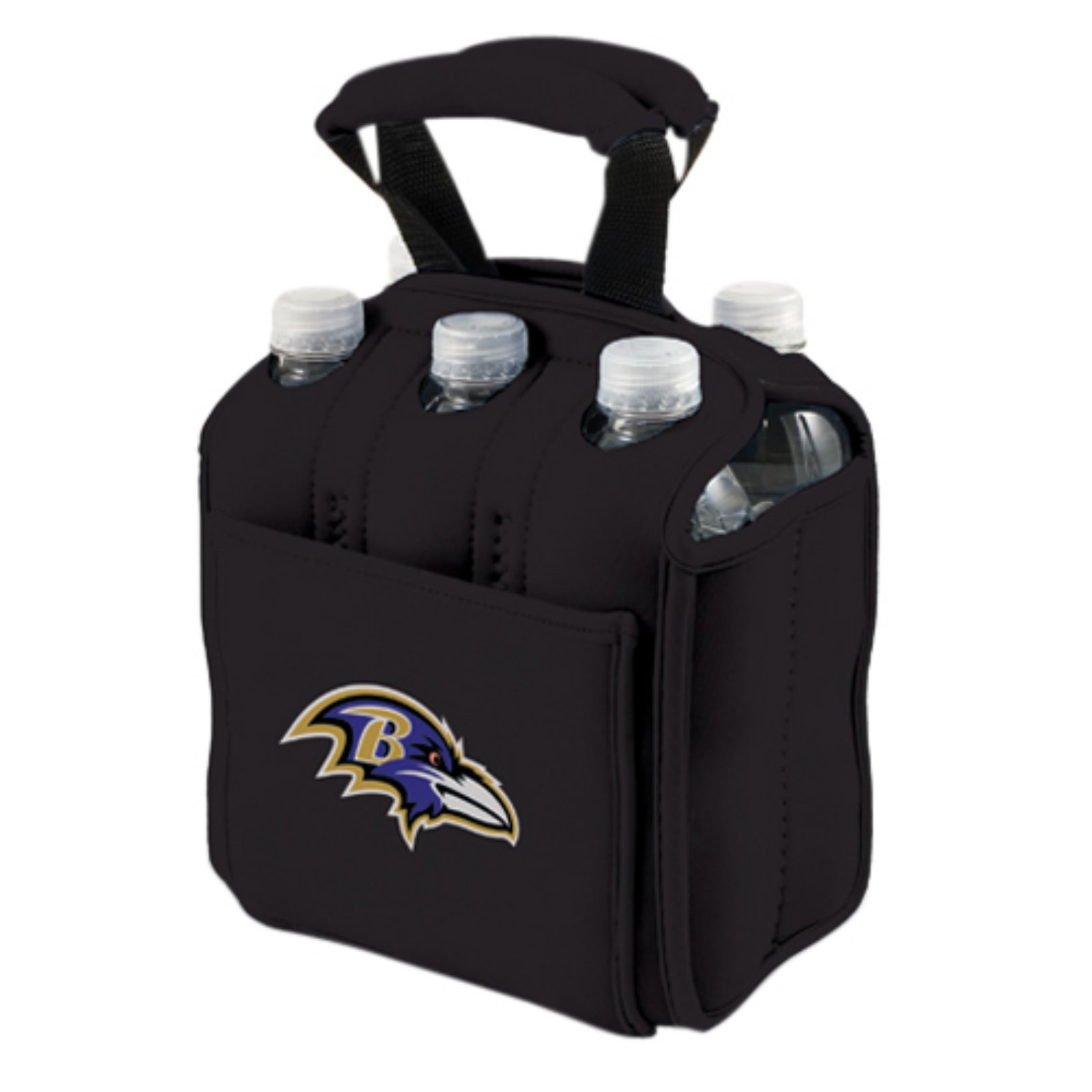 Picnic Time Six Pack, Blk Baltimore Ravens Digital Print
