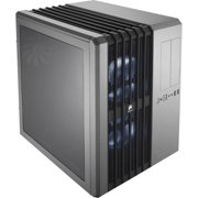 """Corsair Carbide Series Air 540 Silver Edition High Airflow ATX Cube Case - Cube - Silver - Steel, Plastic - 8 x Bay - 3 x 5.51"""" x Fan(s) Installed - 0 - ATX, EATX, Micro ATX, Mini ITX"""