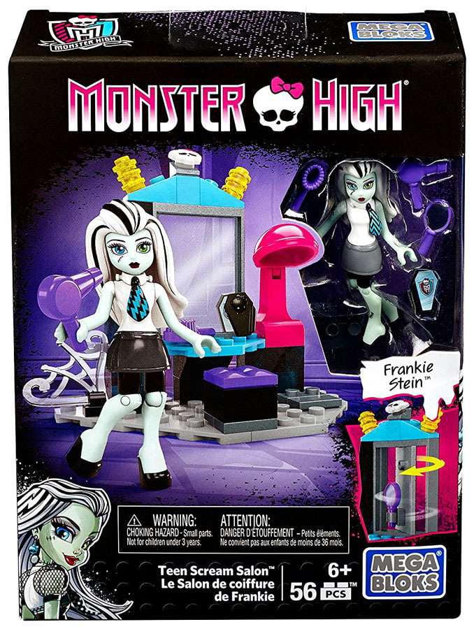 Mega Bloks DPK35 Monster High Teen Scream Salon by Mega Bloks