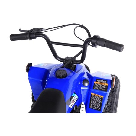 T4B SPARK Mini ATV 250W Brushless Electric KIDS Dirt Quad, 24V13.7Ah, All Terrain, Recreational Outdoors, Off-Road, 3-6 y.o. - Blue - image 2 of 11