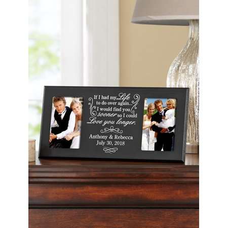 Personalized Love You Longer Frame 16 X 8 Walmartcom