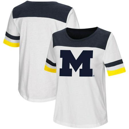 Michigan Monkey (Michigan Wolverines Colosseum Women's Show Me the Money T-Shirt -)