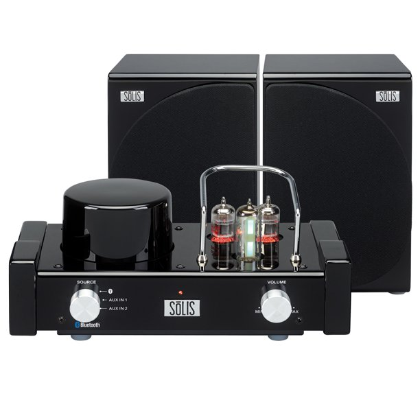 SōLIS SO-8000 Stereo Bluetooth Vacuum Tube Audio System