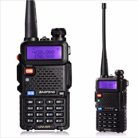 Baofeng UV-5R Two-Way Ham Radio Walkie handheldwalkietalkiesspeaker Talkie Long Range Portable 128 Channels